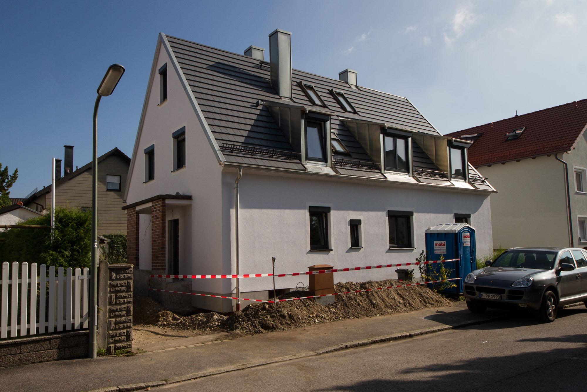 Siedlungshaus Umbauen höfner innenarchitekt umbau eines zweifamilienhauses